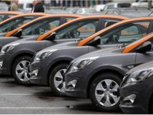 В Москве продолжает развиваться сервис поминутной аренды автомобилей