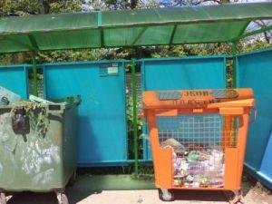 На трёх площадках в Красноармейске появились контейнеры для сбора пластика