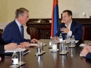 Minister Dacic and Ambassador Chepurin discuss prospects of the two countries' continued all-round cooperation