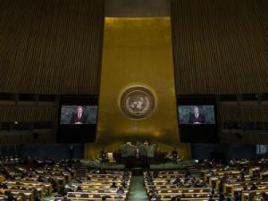 Petro Poroshenko urged the UN member states to recognize Holodomor as an act of genocide against Ukrainians