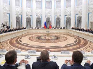 Владимир Путин рассказал о росте промышленного производства в России
