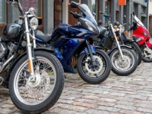 In Russia there are 2.4 million motorcycles
