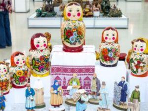 Более 500 фондовых экспонатов покажут в Москве на выставке народных художественных промыслов