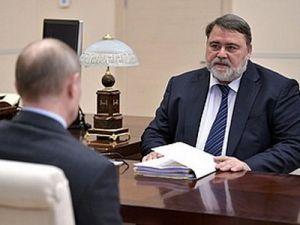 Владимир Путин провёл рабочую встречу сглавой ФАС России Игорем Артемьевым