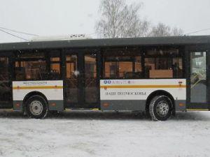 Автобусы в Московской области курсируют в штатном режиме после прошедшего снегопада