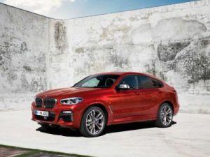 Объявлены рублёвые цены на новый BMW X4
