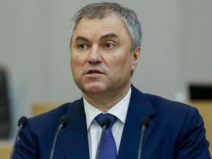 Володин назвал победу Путина победой всех россиян