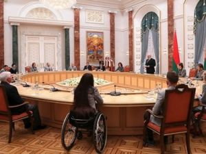 Meeting with winners and medalists of 2018 Olympic and Paralympic Games