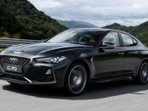 Genesis presented the new sports sedan G70