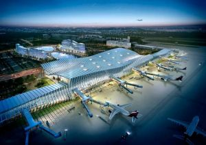 Новый терминал аэропорта в Симферополе принял первых пассажиров
