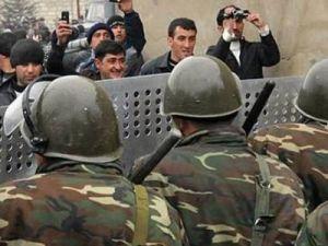 Беспорядки в Азербайджане: погибли двое полицейских