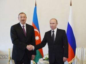 Путин обсудит с Алиевым отношения РФ и Азербайджана и международные проблемы