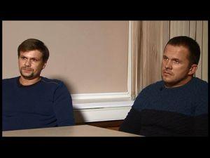 Подозреваемые в отравлении Скрипалей рассказали о поездке в Солсбери