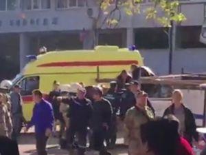 Вполитехническом колледже вКерчибыл взрыв: погибли десять человек. Это было взрывное устройство