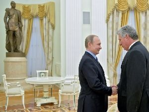 The Leaders of Russia and Cuba Held Official Talks