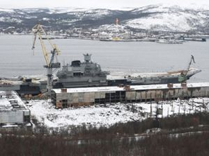 Затонувший в Мурманске при ремонте «Кузнецова» плавдок точно поднимут