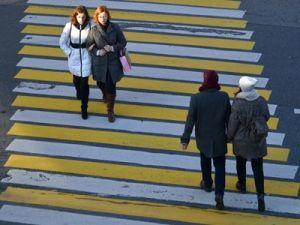 Минтранс РФ предложил приподнять пешеходные переходы над дорогой