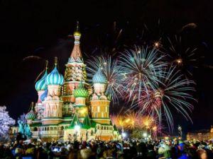 Лучший город Земли в Новый год: Москва пользуется популярностью у туристов