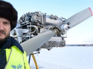 The World's First Aluminum Aircraft Engine Successfully Tested in Russia