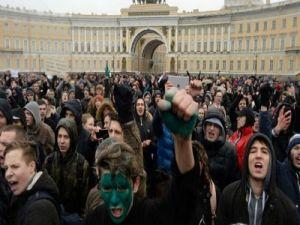 Большинство россиян не хочет участвовать в митингах