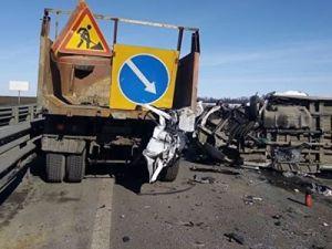 ДТП с микроавтобусом под Ростовом: шесть человек погибли, 13 пострадали. Все подробности
