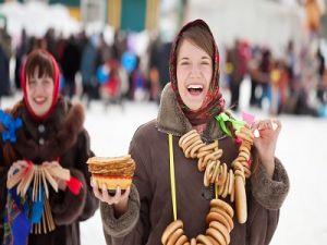 В США и Канаде прошли гулянья в честь празднования Масленицы
