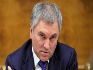 Володин заявил, что с Украины надо взыскать компенсацию за аннексию Крыма