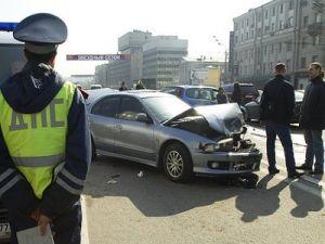 В Москве сбили оформляющего аварию сотрудника ДПС