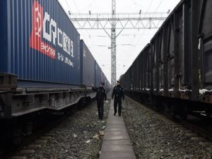 Four People Died When a Freight Train Went off the Rails in China