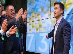 Zelensky Receives 73.2% of Votes after Processing 85.78% of Protocols