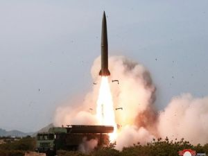 North Korea Launched Two Rockets Eastward