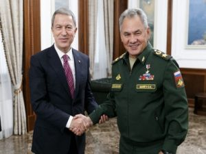 Defense Ministers of Turkey and Russia Discussed Situation in Idlib