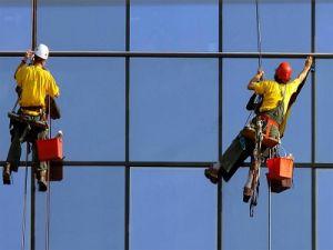 Мойщики окон оказались заблокированы на вершине небоскрёба в США