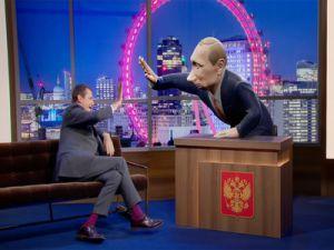 "Program ""Evening with Vladimir Putin"" Will Appear on the BBC"
