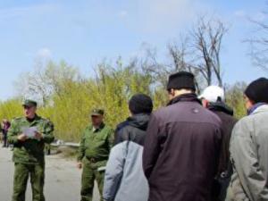 В составе задержанной в ДНР группе украинских военных оказались 50-летние солдаты
