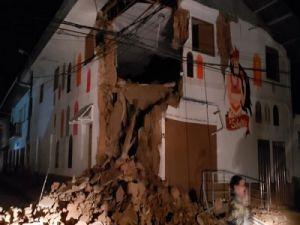 Мощное землетрясение в Перу привело к разрушениям
