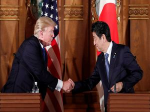 Trump Was Thinking about Withdrawing from the Military Treaty with Japan