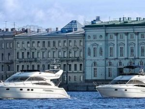 St. Petersburg Was Named the Best City for Yacht Tourism.
