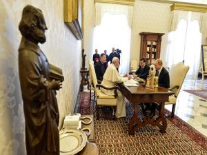 Putin Quoted Pope's Words about Dostoevsky