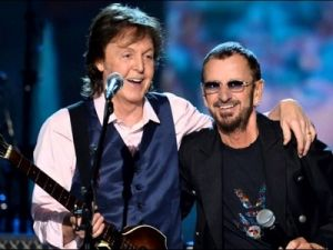 Paul McCartney and Ringo Starr Sang Together at a Concert in Los Angeles