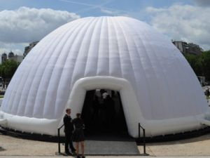 Rostec will Produce Inflatable Buildings