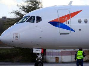 SSJ100 совершил экстренную посадку в Самаре