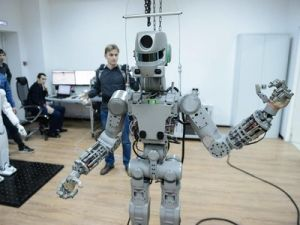 Robot Fedor Will Spent 17 Days on the ISS without Recharging