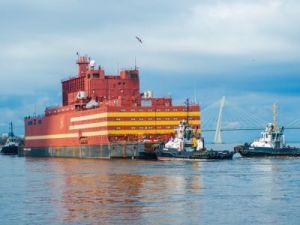 Floating Nuclear Power Unit Went to Chukotka