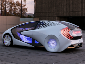 Toyota Announced a Car for the Olympics
