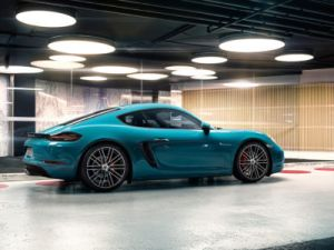 Porsche 718 Cayman will Make All-Electric