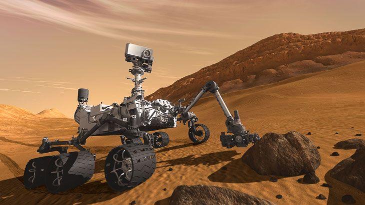 Американские учёные считают, что с Curiosity работают марсиане