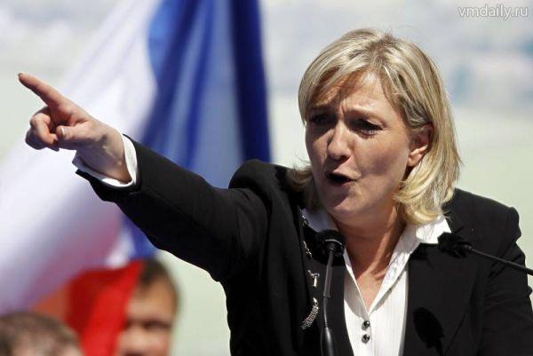 Марин Ле Пен призвала США не дискредитировать Путина в Сирии