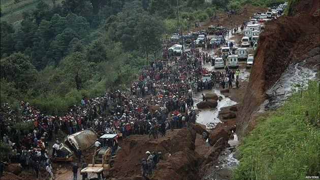 В Гватемале число погибших из-за схода оползня превысило 130 человек