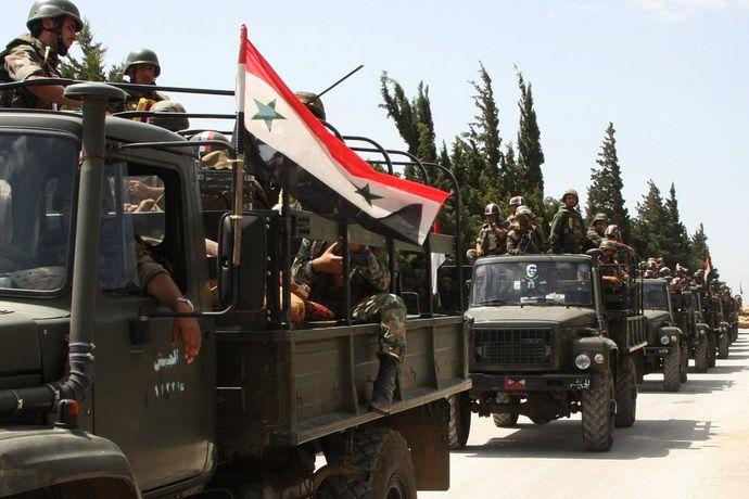 СМИ сообщают о наступлении сирийских войск на позиции ИГ
